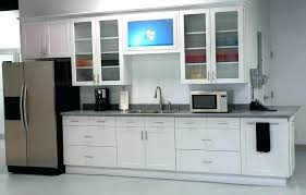 Kitchen With Glass Cabinet Doors Kitchen Glass Cabinet Doors Snaphaven