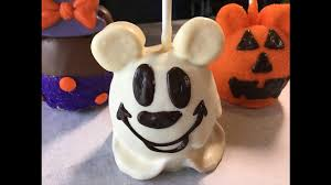 hallween pictures halloween diy make a hauntingly good mickey ghost apple disney