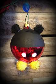 mickey mouse christmas ornament diy christmas pinterest