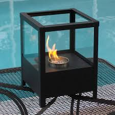 shop nu flame 9 5 in bio fuel fireplace at lowes com