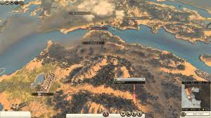 Sparta On Map Wrath Of Sparta Campaign Map Total War Rome Ii Youtube