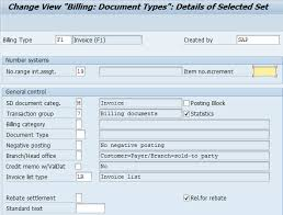 sap document types table how to define billing document types sap sap training tutorials