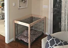 diy dog crate hack