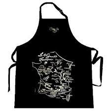 tablier cuisine noir tablier de cuisine noir carte du vignoble français achat vente