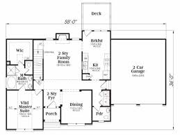 master house plans traditional style house plan 3 beds 2 50 baths 1721 sq ft plan