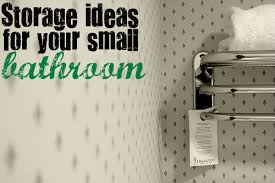 Small Apartment Bathroom Storage Ideas Storage Ideas For Small Spaces Part 5 Bathroom