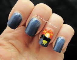 creative nail design by sue summer sunset nails