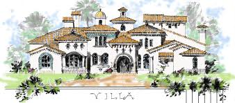 mediterranean villa house plans home design ideas