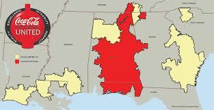Florida Alabama Map by Coca Cola United Plans Expansion In Alabama Florida Georgia And