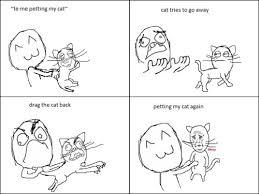 Cartoon Cat Memes - catmemes petting cat meow aum