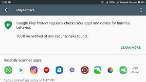 disable google play protect