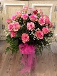 2 dozen roses classic 2 dozen roses in large vase in warwick ri petals gift