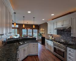 Blue Cabinets Kitchen by Best 20 Blue Pearl Granite Ideas On Pinterest Kitchen Granite
