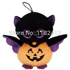 beanie cute stuffed animal big eyes halloween batty bat plush