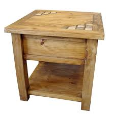 rustic pine end table rustic end tables for sale the natural and warm rustic end tables