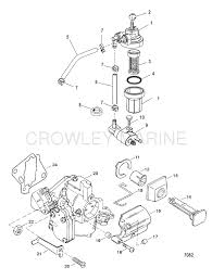 Mercury 25 Hp 2 Stroke Wiring Diagram Fuel System Components Commercial Engines Mercury Oem Parts