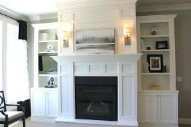 built in cabinets around fireplace built ins around fireplace ideas fireplace with shelves on both
