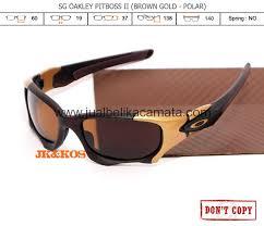 Harga Kacamata Rayban Sunglasses harga kacamata polarized oakley pitboss 2 brown gold
