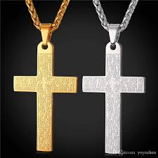 bible verse jewelry bible cross necklaces pendants high quality stainless steel bible
