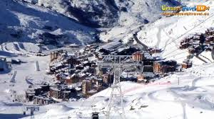skiing val thorens france unravel travel tv youtube