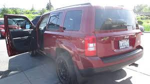 maroon jeep 2012 jeep patriot maroon stock 13 3297aa walk around youtube