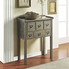 Sofa Table With Drawers Altra 6 Drawer Accent Console Table 5089096