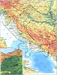 Map Of Southern Europe by Medjugorje Map Maps Of Surrounding Mostar Bosnia And