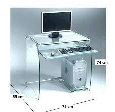 bureau ikea verre et alu petit bureau en verre petit bureau verre petit petit bureau en verre