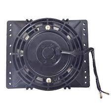 oil cooler fan kit 6 inch electric fan shroud radiator oil cooler high air flow cfm