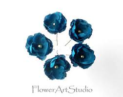turquoise flowers turquoise flowers etsy
