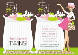top 15 baby shower invitations for twins for you thewhipper com