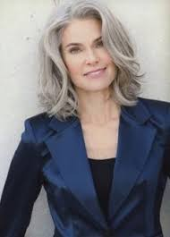 glamorous styles for medium grey hair get the best haircut of your life in your 50s layered cuts