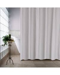 Ticking Stripe Curtains Check Out These Deals On Farmhouse Ticking Stripe Shower