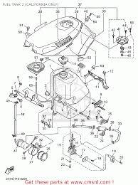 cover top fuel tank fzr600r 1996 t usa 3hey217fg04y