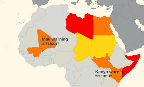Mali Africa Map by Fresh Warnings As Faa Clarifies Weapons Risk In Kenya Mali