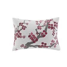 Natori Duvet N Natori Cherry Blossom Multi Cotton Duvet Cover Mini Set Free