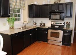 Black Paint For Kitchen Cabinets Kitchen Paint Ideas With Cabinets Nurani Org