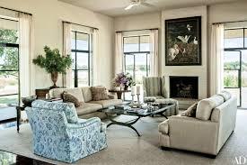 Texas Interior Design Inside Laura And George W Bush U0027s Subtly Rustic Texas Ranch