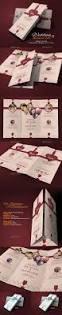tri fold wedding card tri fold wedding card and indesign templates