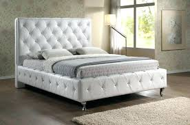 Headboard For King Size Bed Astonishing Button Tufted Headboard King Nail In Linen White
