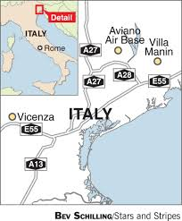 Aviano Italy Map by Near Aviano Air Base Villa Manin Shows War Through A Camera Lens