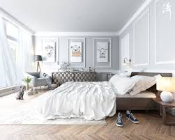 Bedroom Decorating Ideas Black And White Scandinavian Bedroom Decor Ideas With Perfect And White Color