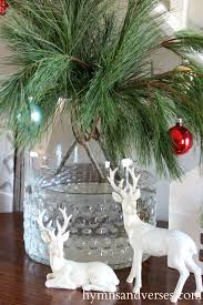 Reindeer Christmas Home Decor by 2015 Christmas Home Tour Part 1 Hymns And Verses