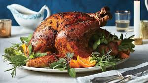 southern turkey recipe thanksgiving roasted herb turkey and gravy recipe southern living