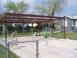 Exciting How To Build A by Exciting How To Build A Metal Carport Frame Design Collection