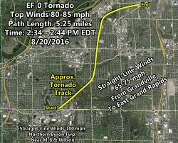 Google Map Of Michigan by Six Tornadoes In West Michigan View Tornado Maps Radar More