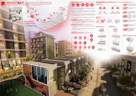 Low Cost Housing Design by Lafarge Affordable Housing Inter Act