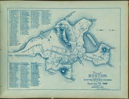 Map Copley Square Boston by Plan Of Boston Showing Existing Ways And Owners On December 25