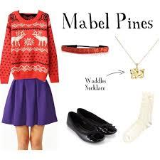 Gravity Falls Mabel Halloween Costume Mabel Pines Gravity Falls Polyvore
