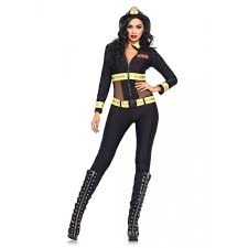 Halloween Costumes Leopard Print Red Blaze Firefighter Military U0026 Uniforms Costumes Leg
